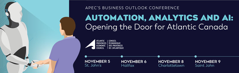 Automation, Analytics and AI - Opening the Door for Atlantic Canada @ PEI Convention Centre | Charlottetown | Prince Edward Island | Canada